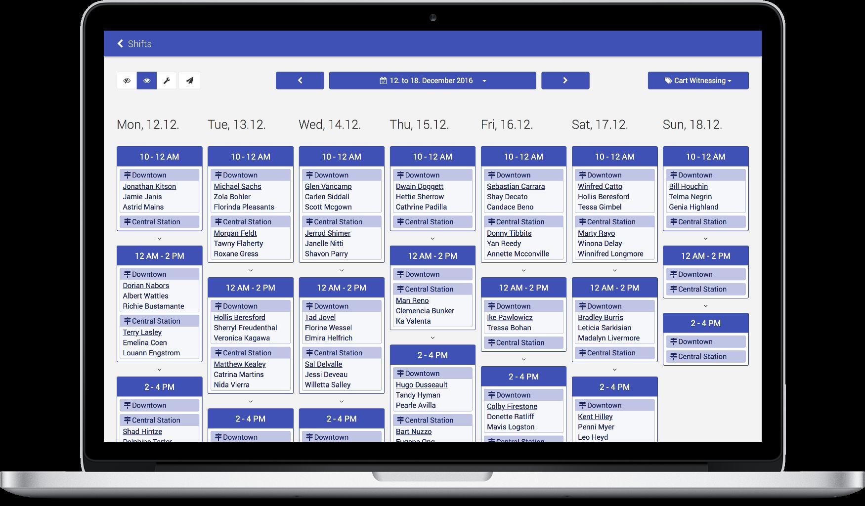 Calendar | JW Management